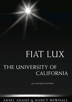 Fiat Lux - Ansel Adams bookcover