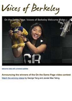Voices of Berkeley screenshot